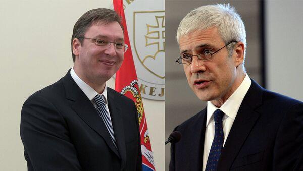 Александар Вучић и Борис Тадић - Sputnik Србија