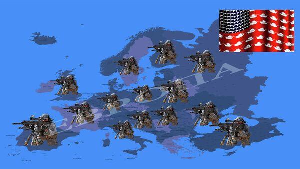 Америчка војска у Европи - илустрација - Sputnik Србија