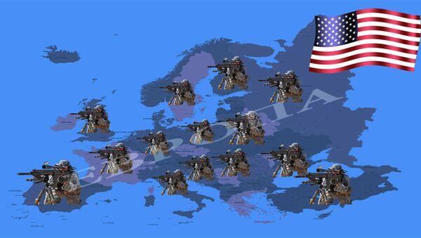 Američka vojska u Evropi - ilustracija - Sputnik Srbija