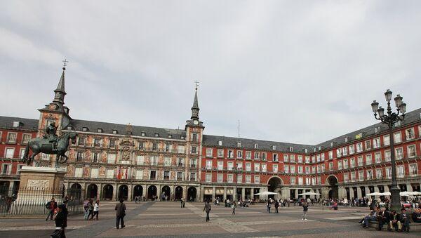 Trg u Madridu, Španija - Sputnik Srbija
