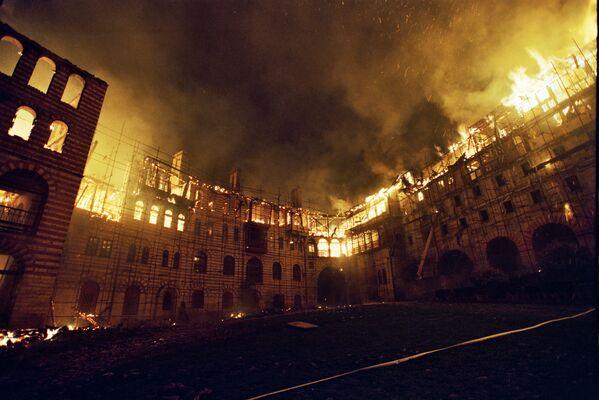 ЕКСКЛУЗИВНО: Хиландар 11 година после пожара - Sputnik Србија