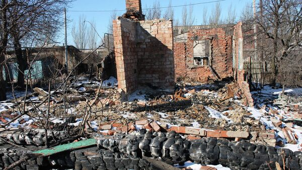 Ruševine u Gorlovci - Sputnik Srbija