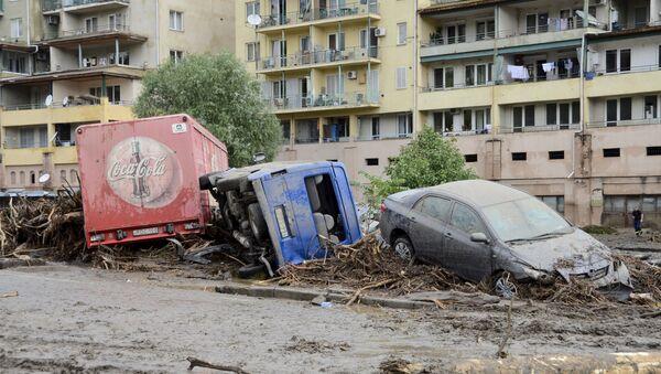 Poplave u Tbilisiju 14 jun , 2015, Gruzija - Sputnik Srbija
