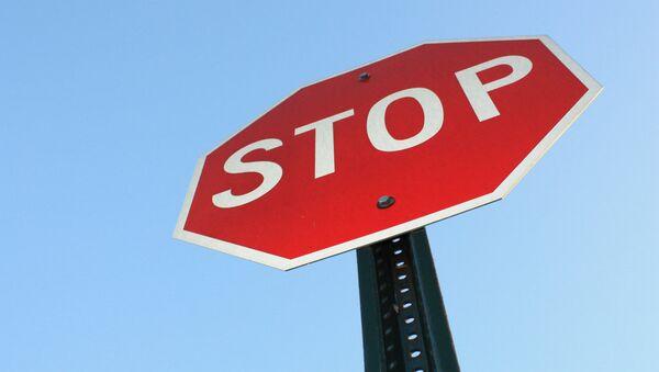 Saobraćajni znak stop - Sputnik Srbija