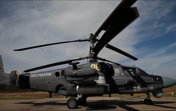 Protivpodmornički i višenamenski palubni helikopter  KA-52 - Sputnik Srbija