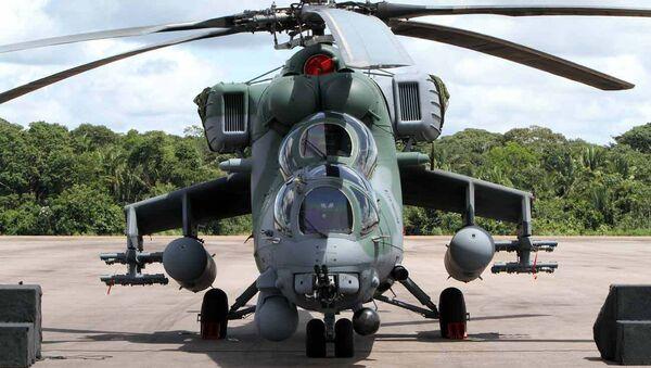 Borbeni helikopter Mi-35M - Sputnik Srbija