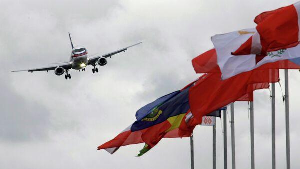 """Ruski putnički avion """"suhoj superdžet 100"""" SSJ-100 - Sputnik Srbija"""