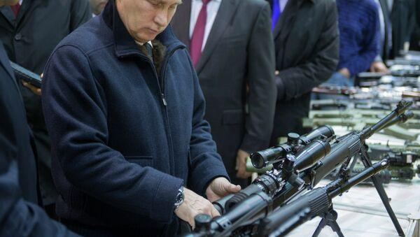 Radna poseta Vladimira Putina u Iževsk - Sputnik Srbija