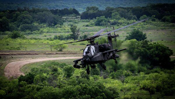 Američki helikopter AH-64D Apač - Sputnik Srbija