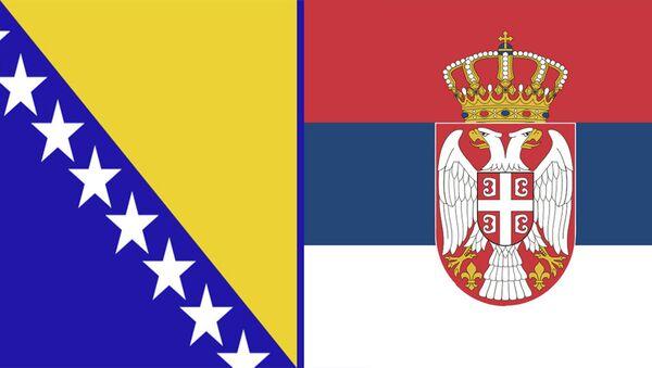 Заставе Босне и Херцеговине и Србије - Sputnik Србија
