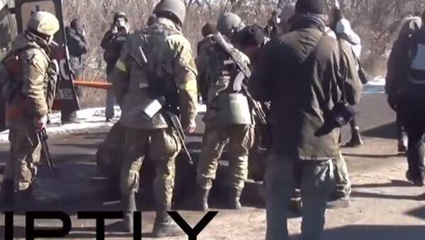 Ukrajinski vojnik u Dombasu - Sputnik Srbija