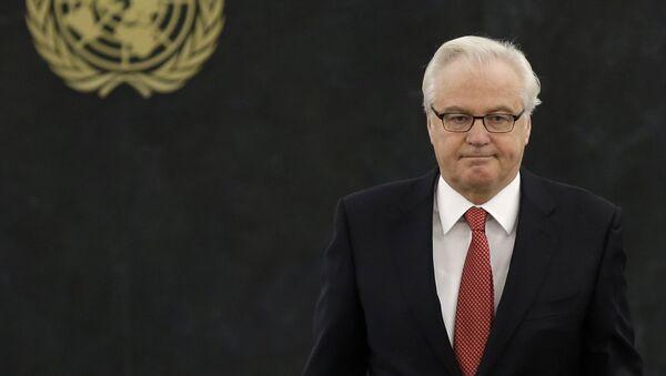Ruski ambasador u Ujedinjenim nacijama Vitalij Čurkin - Sputnik Srbija
