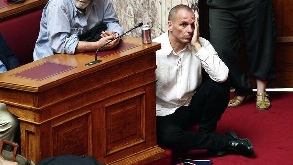 Грчки министар финисансија Јанис Варуфакис - Sputnik Србија