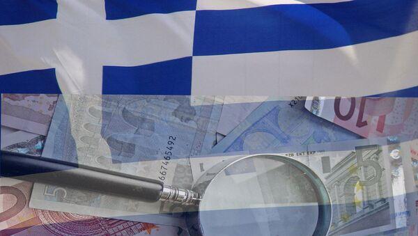 Грчка криза - илустрација - Sputnik Србија