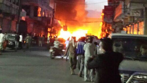 Експлозије у Јемену - Sputnik Србија