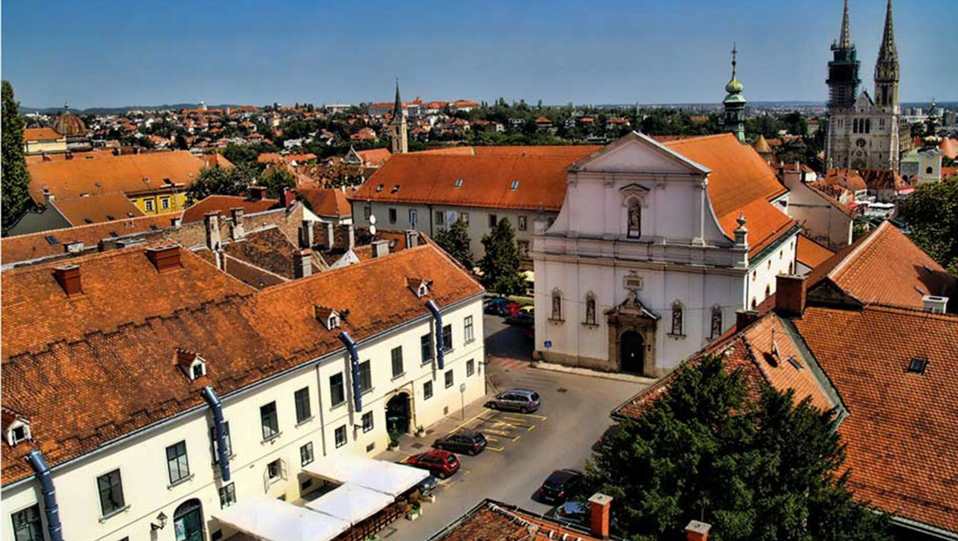 Панорама Загреба - Sputnik Србија, 1920, 16.05.2021