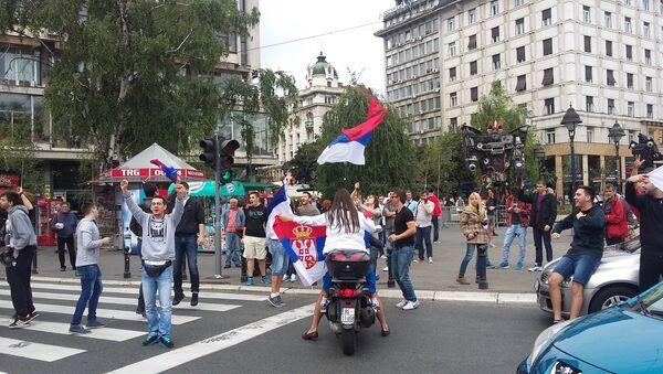 Beograđani slave svetsku titulu - Sputnik Srbija