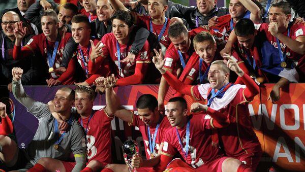 Fudbaleri Srbije šampioni sveta - Sputnik Srbija