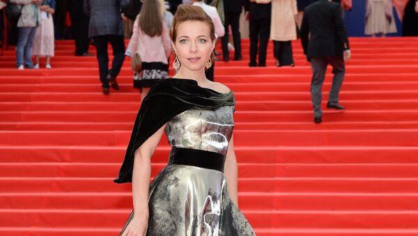 Руска глумица Катарина Гусева на свечаној церемонији отварања 37. Међународног филмског фестивала у Москви - Sputnik Србија