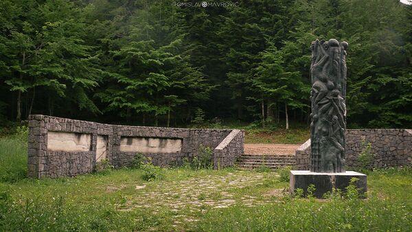 Spomenik ubijenima i logoru Jadovno - Sputnik Srbija