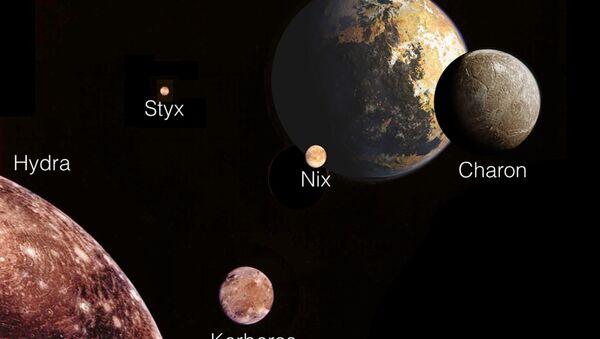 Планета Плутон и њени месеци - Sputnik Србија