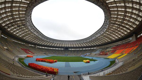 Renoviran stadion Lužnjiki za svetsko prvenstvo u fudbalu 2018 godine - Sputnik Srbija
