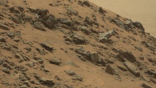 """Пирамида на Марсу, фотографија планетарног ровера """"Кјуриосити"""" - Sputnik Србија"""