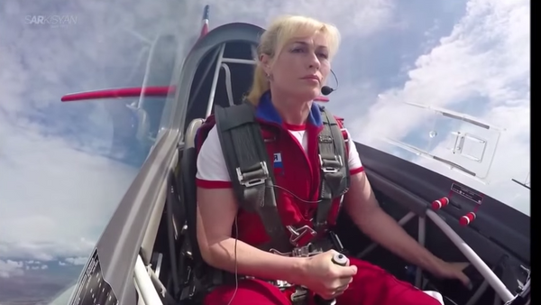 Ruski pilot Svetlana Kapanina - Sputnik Srbija