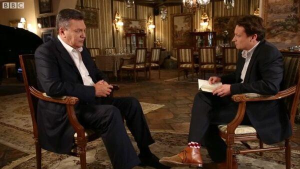 Intervju Viktora Janukoviča za Bi-Bi-Si - Sputnik Srbija