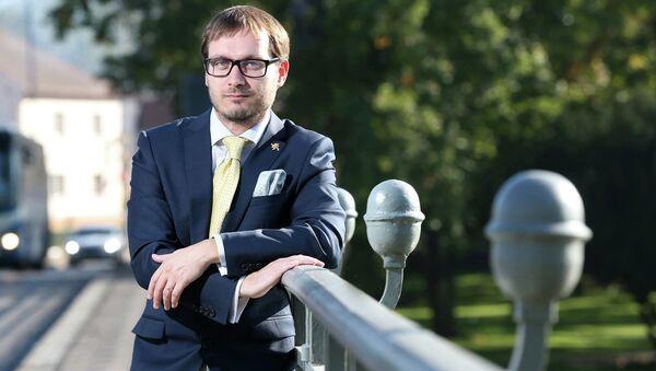 Adam Bartoš predsednik češke stranke Narodna demokratija - Sputnik Srbija