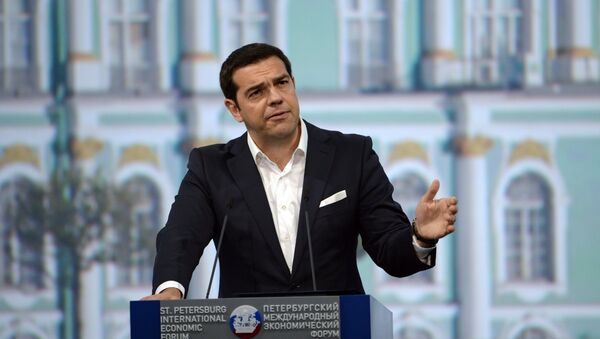 Aleksis Cipras, premijer Grčke - Sputnik Srbija