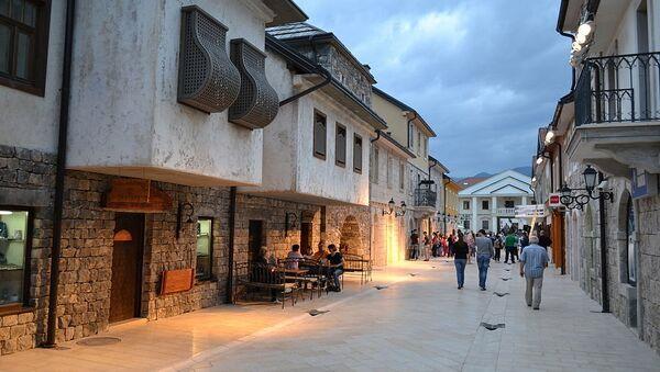 """Улица """"Младе Босне"""", главна улица у Андрићграду - Sputnik Србија"""