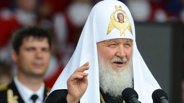 Патријарх московски и све Русије Кирил - Sputnik Србија