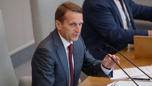 Председник Државне Думе Сергеј Наришкин - Sputnik Србија