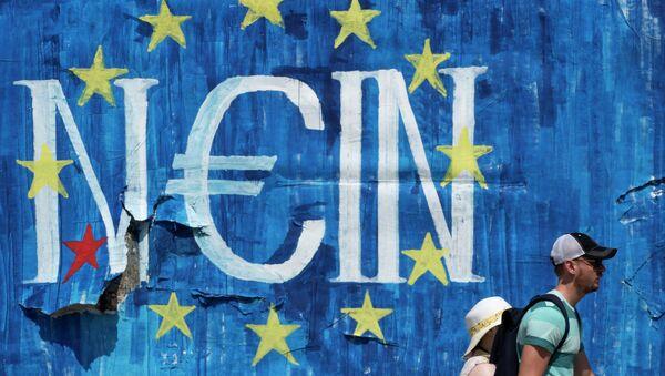 Plakat u Grčkoj - Sputnik Srbija