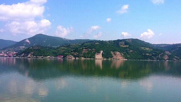 Rumunska obala Dunava, naspram Golupca - Sputnik Srbija