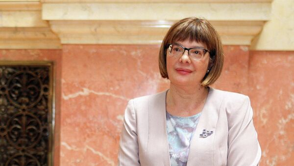 Predsednica narodne skupštine Srbije Maja Gojković - Sputnik Srbija
