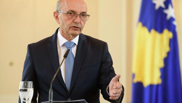Премијер самопроглашене државе Косово Иса Мустафа - Sputnik Србија