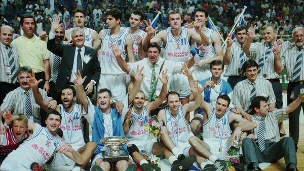 Evropski prvaci u Atini 1995 godine, reprezentativci Jugoslavije - Sputnik Srbija