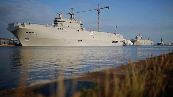 "Десантни бродови класе ""мистрал"" – ""Севастопољ"" и ""Владивосток"" - Sputnik Србија"
