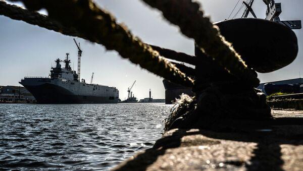"""Desantni brod """"Vladivostok"""" klase """"mistral"""" - Sputnik Srbija"""