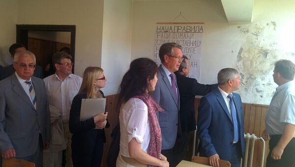 Руске железнице обнављају школу у Голубинцима - Sputnik Србија