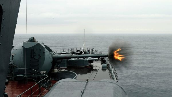 AK-130 mornarička artiljerija - Sputnik Srbija