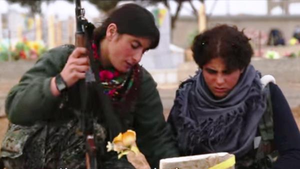 Жене-војници у курдским Наросним заштитним јединицама - Sputnik Србија