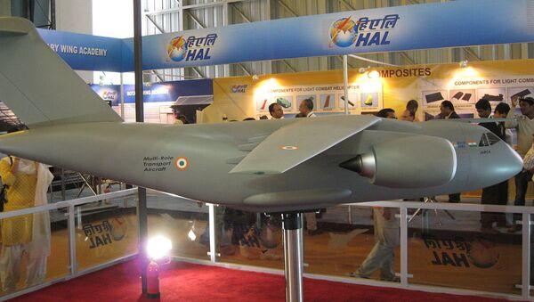 Модел вишенаменског транспортног авиона на изложби Аеро Индија - Sputnik Србија