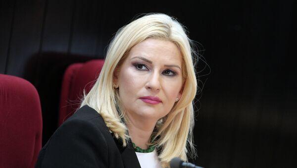 Ministarka građevinarstva, saobraćaja i infrastrukture Zorana Mihajlović - Sputnik Srbija