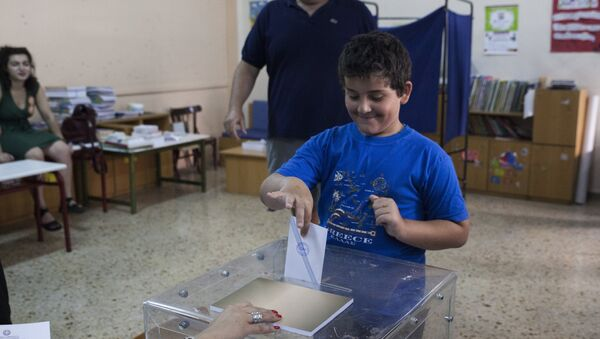Референдум в Грчкој - Sputnik Србија