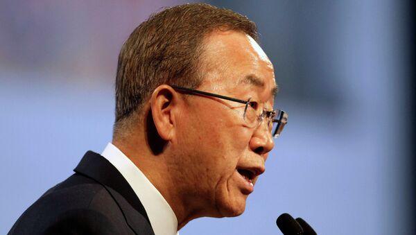 Генерални секретар УН Бан Ки Мун - Sputnik Србија