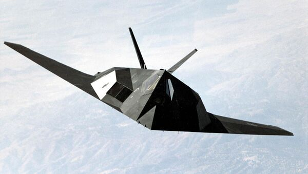 US Air Force F-117 Nighthawk stealth fighter - Sputnik Srbija