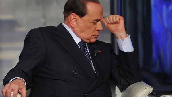 Бивши италијански премијер Силвио Берлускони - Sputnik Србија